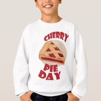 Twentieth February - Cherry Pie Day Sweatshirt
