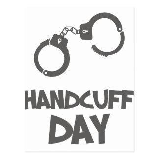 Twentieth February - Handcuff Day Postcard