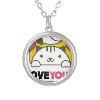 Twentieth February - Love Your Pet Day Silver Plated Necklace