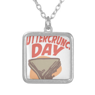 Twentieth January - Buttercrunch Day Silver Plated Necklace