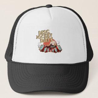 Twentieth January - Disc Jockey Day Trucker Hat