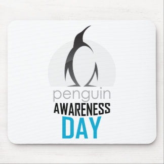 Twentieth January - Penguin Awareness Day Mouse Pad