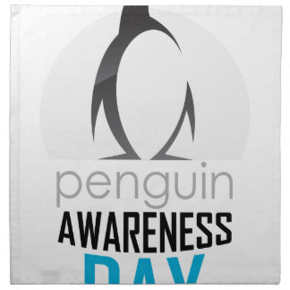 Twentieth January - Penguin Awareness Day Napkin