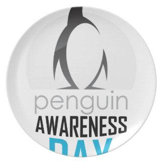 Twentieth January - Penguin Awareness Day Plate
