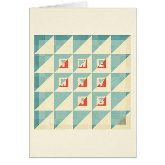 Twenty 13 card