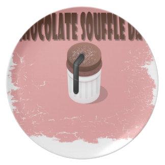 Twenty-eighth February - Chocolate Souffle Day Plate
