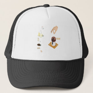 Twenty-eighth February - Chocolate Souffle Day Trucker Hat