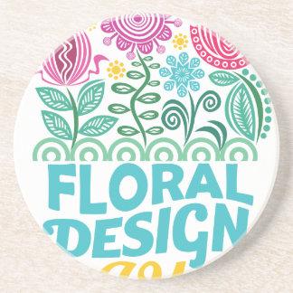 Twenty-eighth February - Floral Design Day Coaster