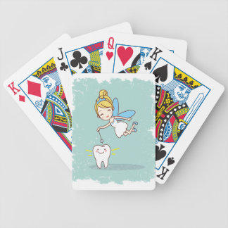 Twenty-eighth February - Tooth Fairy Day Bicycle Playing Cards