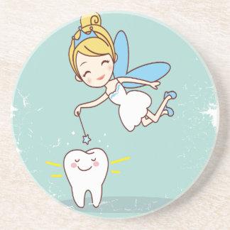 Twenty-eighth February - Tooth Fairy Day Coaster