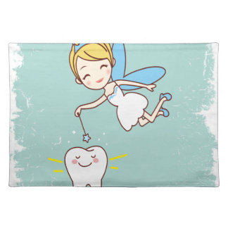 Twenty-eighth February - Tooth Fairy Day Place Mat