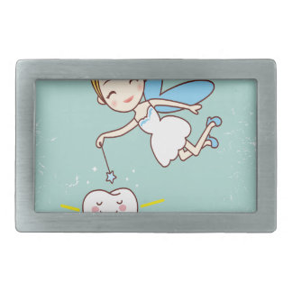 Twenty-eighth February - Tooth Fairy Day Rectangular Belt Buckle