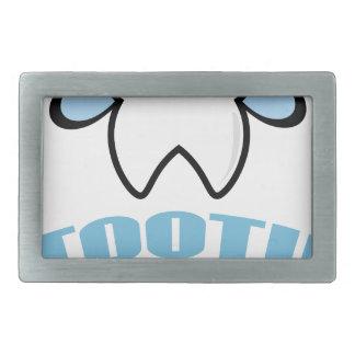 Twenty-eighth February - Tooth Fairy Day Rectangular Belt Buckle