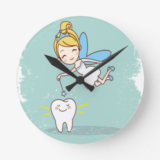 Twenty-eighth February - Tooth Fairy Day Round Clock