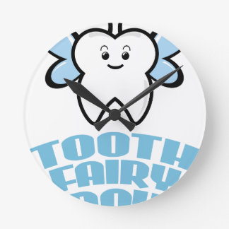 Twenty-eighth February - Tooth Fairy Day Wall Clocks