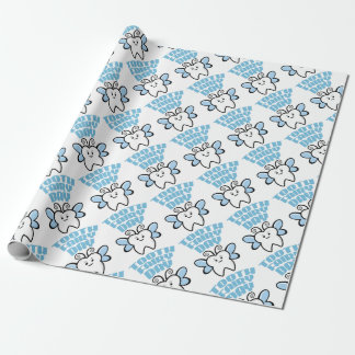 Twenty-eighth February - Tooth Fairy Day Wrapping Paper
