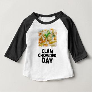 Twenty-fifth February - Clam Chowder Day Baby T-Shirt