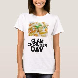 Twenty-fifth February - Clam Chowder Day T-Shirt