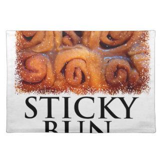 Twenty-first February - Sticky Bun Day Placemat
