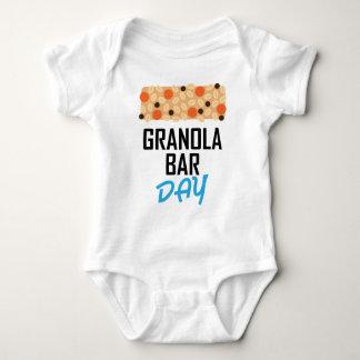 Twenty-first January - Granola Bar Day Baby Bodysuit