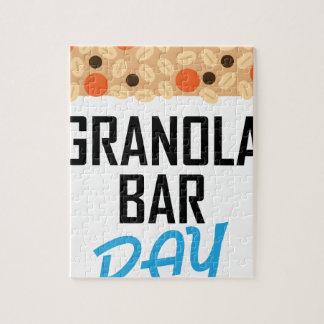 Twenty-first January - Granola Bar Day Jigsaw Puzzle