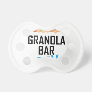 Twenty-first January - Granola Bar Day Pacifier