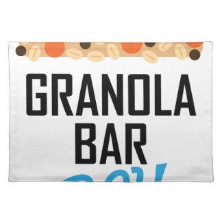 Twenty-first January - Granola Bar Day Placemat
