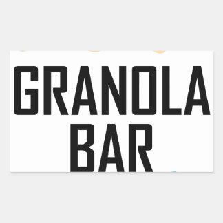Twenty-first January - Granola Bar Day Sticker