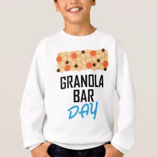 Twenty-first January - Granola Bar Day Sweatshirt