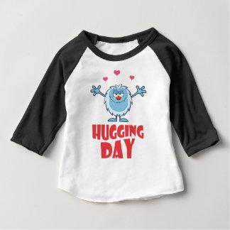 Twenty-first January - Hugging Day Baby T-Shirt