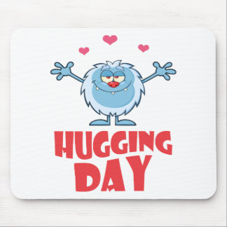 Twenty-first January - Hugging Day Mouse Pad
