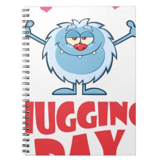 Twenty-first January - Hugging Day Notebook
