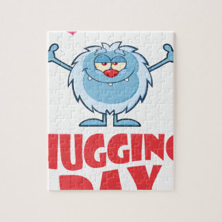 Twenty-first January - Hugging Day Puzzle