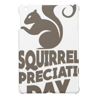 Twenty-first January - Squirrel Appreciation Day iPad Mini Covers