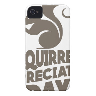 Twenty-first January - Squirrel Appreciation Day iPhone 4 Cover