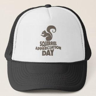 Twenty-first January - Squirrel Appreciation Day Trucker Hat