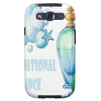 Twenty-first March - International Fragrance Day Galaxy S3 Cases