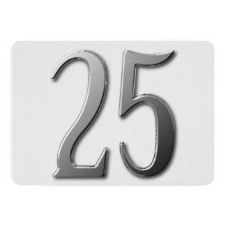Twenty Five Card