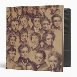 Twenty Five Pupils from the Studio of Antoine Vinyl Binder