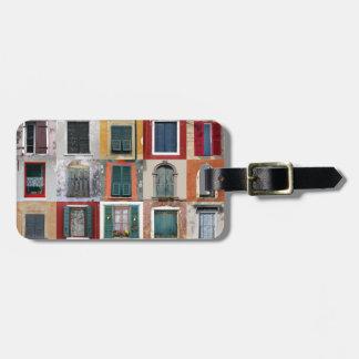 Twenty Five Windows Luggage Tag