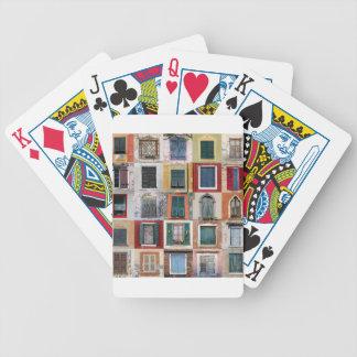 Twenty Five Windows Poker Deck