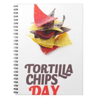 Twenty-fourt February - Tortilla Chip Day Notebook