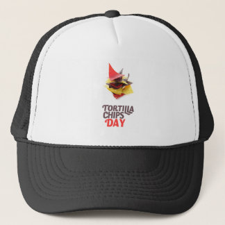 Twenty-fourt February - Tortilla Chip Day Trucker Hat