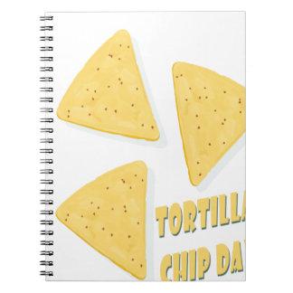 Twenty-fourth February - Tortilla Chip Day Notebooks