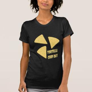 Twenty-fourth February - Tortilla Chip Day T-Shirt