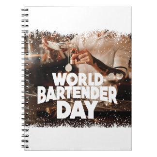 Twenty-fourth February - World Bartender Day Notebook