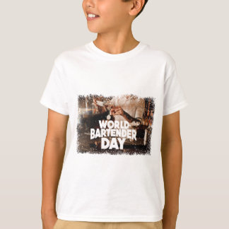Twenty-fourth February - World Bartender Day T-Shirt
