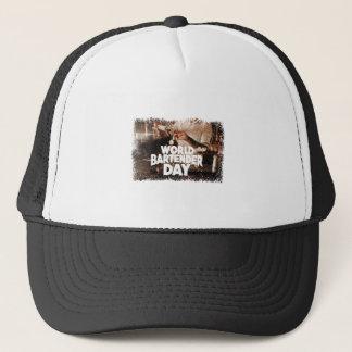 Twenty-fourth February - World Bartender Day Trucker Hat
