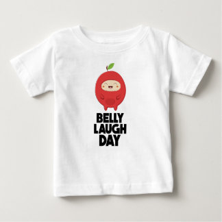 Twenty-fourth January - Belly Laugh Day Baby T-Shirt