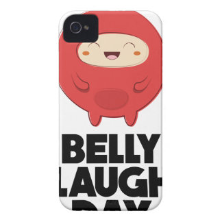Twenty-fourth January - Belly Laugh Day iPhone 4 Case-Mate Case